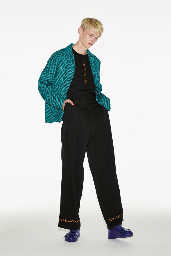 Shareef Spring Summer 2018 Lookbook collection Tokyo Japan