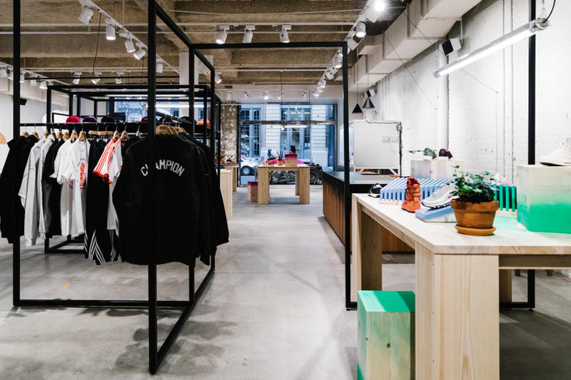 Sneakersnstuff New York Store Information Meatpacking District Bofink Design Studio Wil Whitney