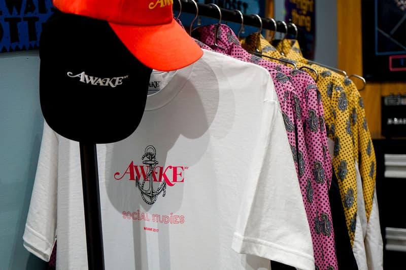 Social Studies Miami T-shirt Workshop Recap Virgil Abloh Heron Preston Angela Baque Art Basel Awake NY