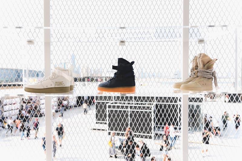 Dubai Sole DBX 2017 Recap Photos Jeff Staple Nike Puma han kjobenhavn custom levis denim workshop pigeon dunk supreme punching bag deck bearbrick undercover basketball air force 1 af100 pusha t dior mo flo serious klein teyana taylor shebani