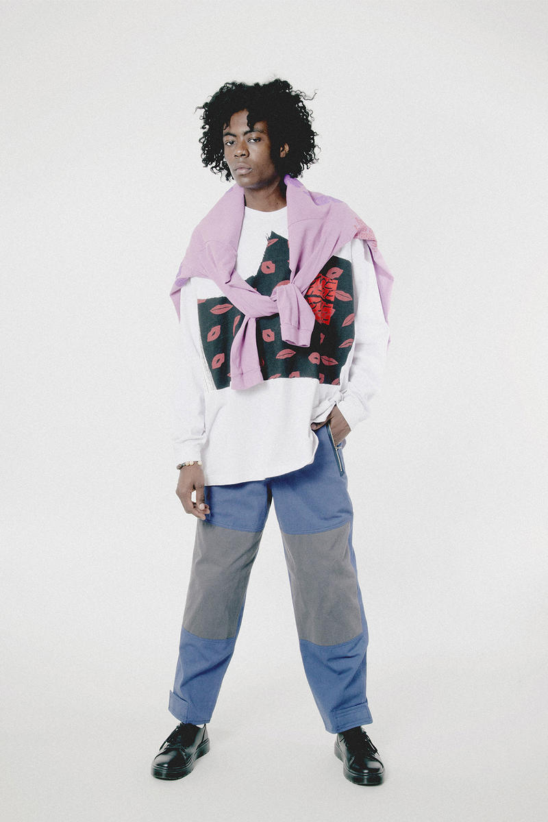 Some Ware Winter 2017 Editorial Union Los Angeles 2017 December 21 Release Date Info Cali Thornhill DeWitt Brendan Fowler asymmetrical pink red apron smock