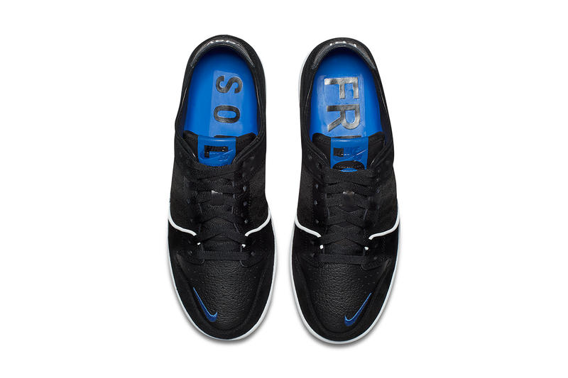 online store 19e99 6b5c6 Soulland Nike SB Dunk Low Black Official Images Release Date Skateboarding