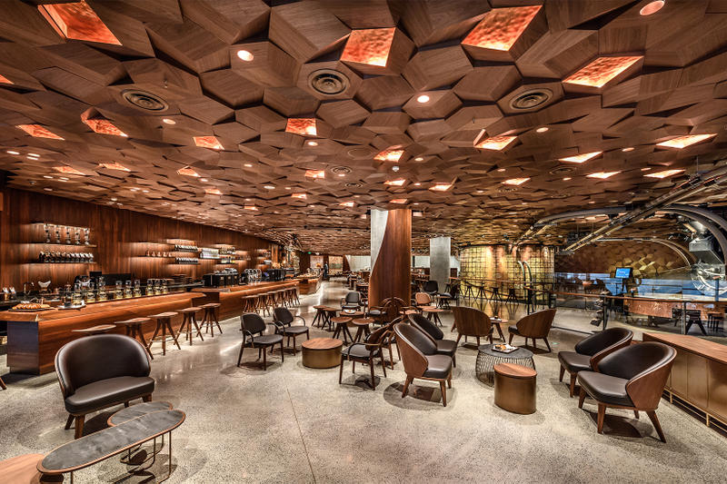 Starbucks Reserve Roastery Shanghai Largest Biggest World Earth