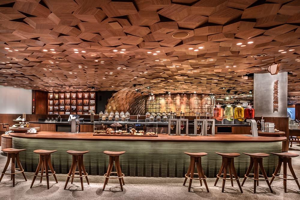 Starbucks Reserve Roastery Shanghai Largest Biggest World Earth