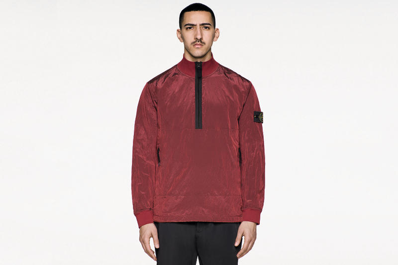Stone Island Carlo Rivetti Nylon Metal Finish Fall/Winter 2017 Tank Shield Big Loom Jacquard