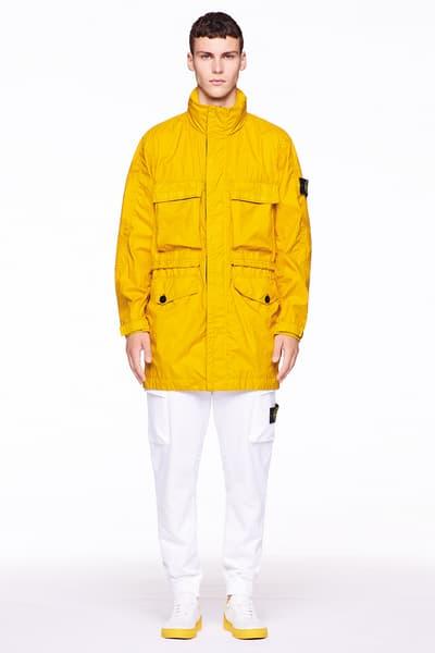 Stone Island Carlo Rivetti Marina Spring Summer 2018 Lookbook Outerwear Jackets Vests Pants