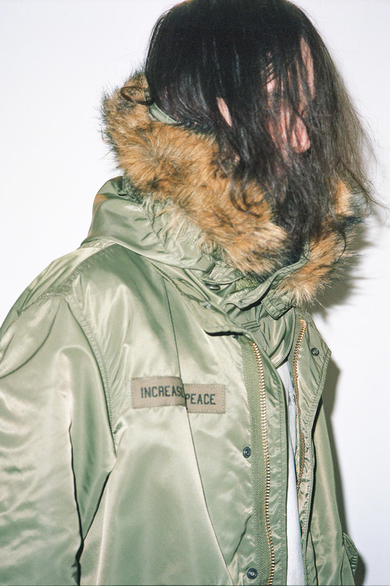 Stüssy Alpha Industries M-51 Fishtail Parka Liner January 1 2018 Release