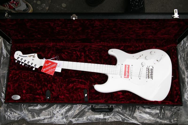 Supreme London Drop Style December Guitar Fender Shred