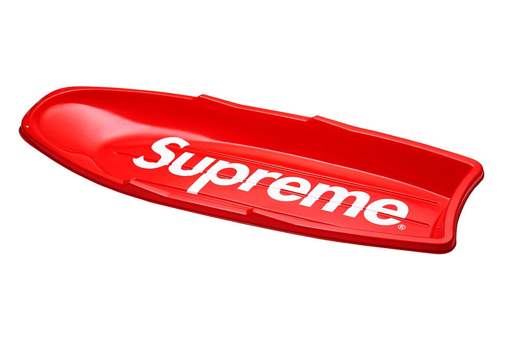 Supreme Sled Streetwear Fashion Novelty Collectible Accessories