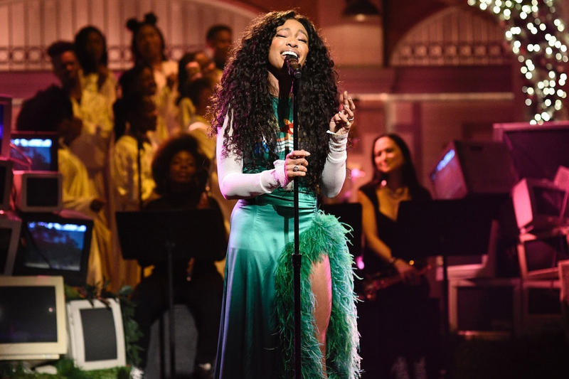 SZA SNL Saturday Night Live The Weekend Love Galore
