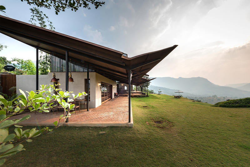 India Countryside Home Residence Spasm Design Studio Lanavala
