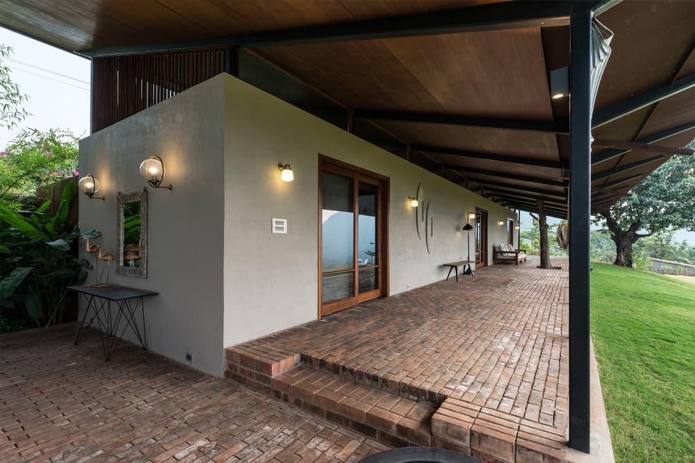 India Countryside Home Residence Spasm Design Studio Lanavala