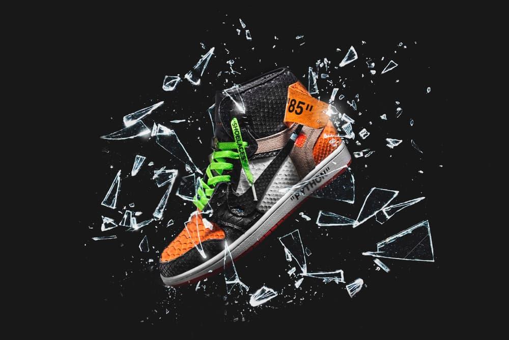 The Shoe Surgeon Air Jordan Shattered Python custom sneaker