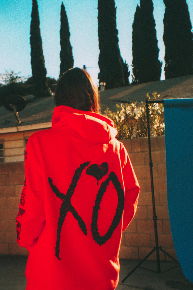 003 PART TWO The Weeknd XO Merch merchandise clothing streetwear style fashion starboy concert tour fall 2017 Winter Collection