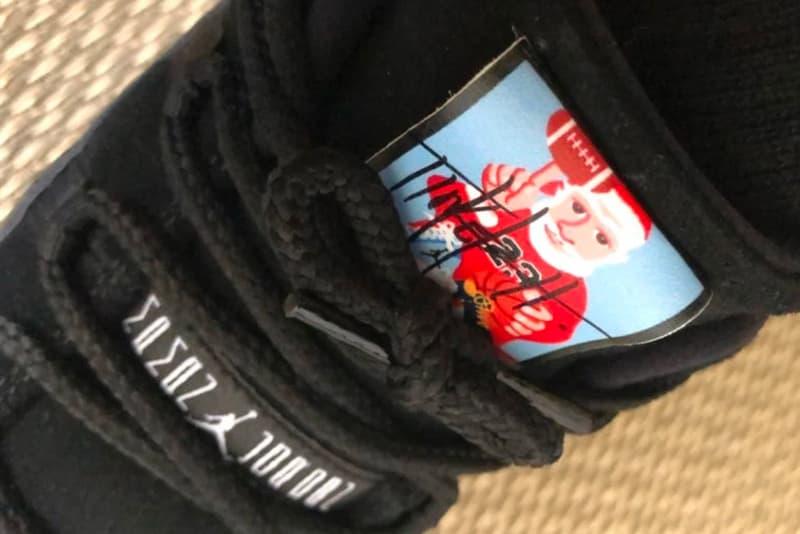 Tinker Hatfield Friends Family Santa Claus Air Jordan 11 Jordan Brand