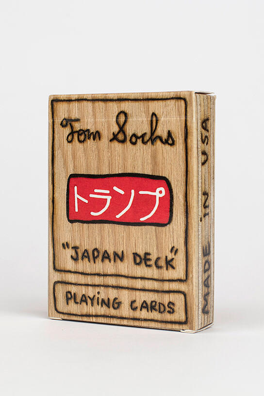 Tom Sachs Plywood Playing Cards Japan Deck Tea Ceremony Purchase