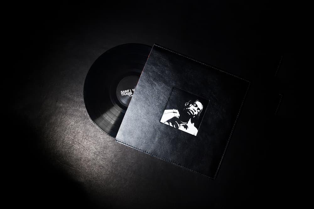 Travis Scott Saint Laurent Anthony Vaccarello Colette Vinyl Playlist Kanye West Cardi B James Blake Frank Ocean Young Thug Bon Iver