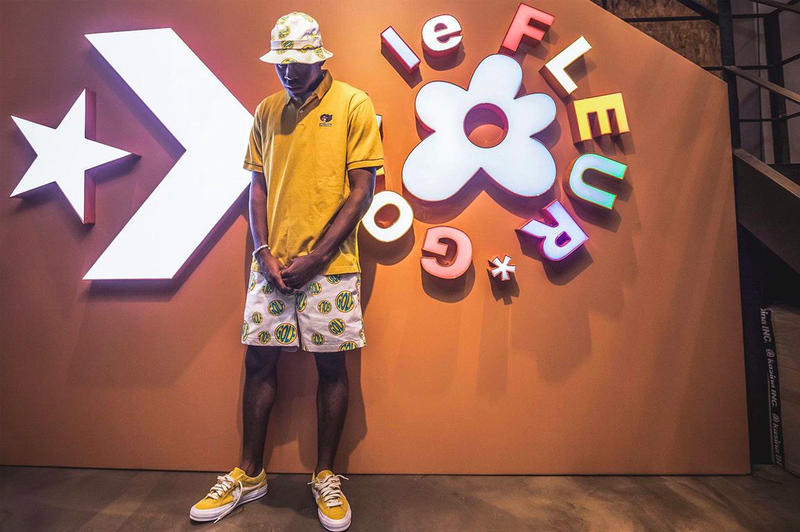 Tyler the Creator Golf le Fleur Converse Sneakers
