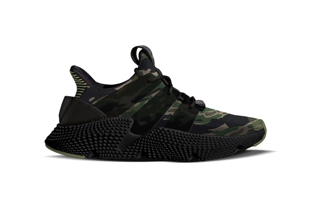 UNDEFEATED adidas Originals Prophere Camo Camouflage First Look 2017 December 16 23 Release Date Info Sneakers Shoes Footwear