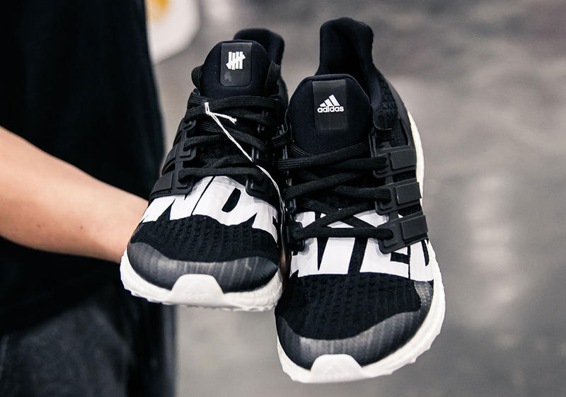 56b2f9dbdaa UNDEFEATED x adidas UltraBOOST Closer Look | HYPEBEAST