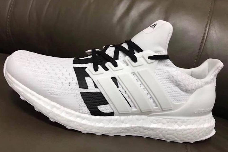 UNDEFEATED adidas UltraBOOST UNDFTD Black White Three Stripes Five Strikes