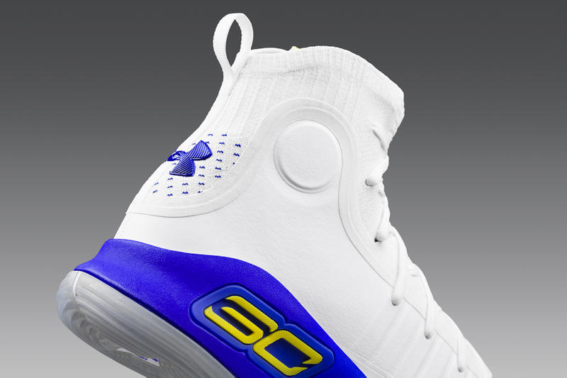 Under Armour Curry 4 More Dubs dronedrop Drone Drop San Francisco Golden State Warriors 2017 December 16 Release Date Info Sneakers Shoes Footwear