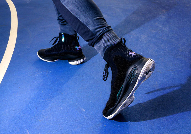 Under Armour Stephen Curry 4 More Range Basketball Shoes Sneakers Footwear