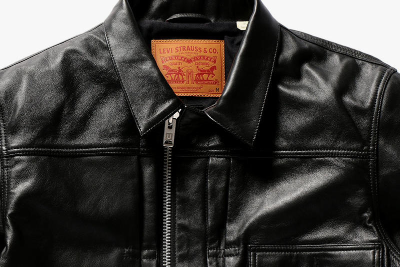 UNDERCOVER Levis Collaboration Jeans Denim Jackets Leather Jun Takahashi 2017 Fall Winter December 16 drop release date info
