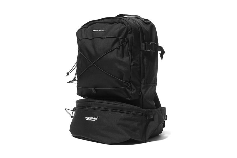 UNDERCOVER UCT4B01 Bag Black Red 2017 Fall Winter Detachable Waist Pack HAVEN Chaos Balance 2017 Fall Winter backpack bookbag