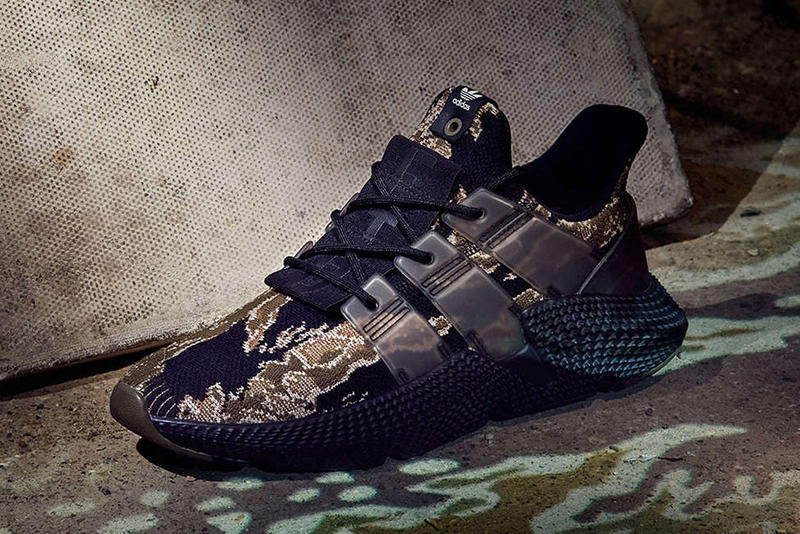 UNDFTD UNDEFEATED adidas Originals Prophere Tiger Camo Closer Look adidas Consortium footwear Release Info Date Drops December 23