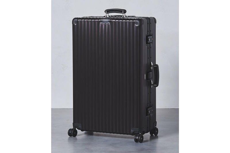 United Arrows RIMOWA Classic Flight Suitcase All Black exclusive release January 2018