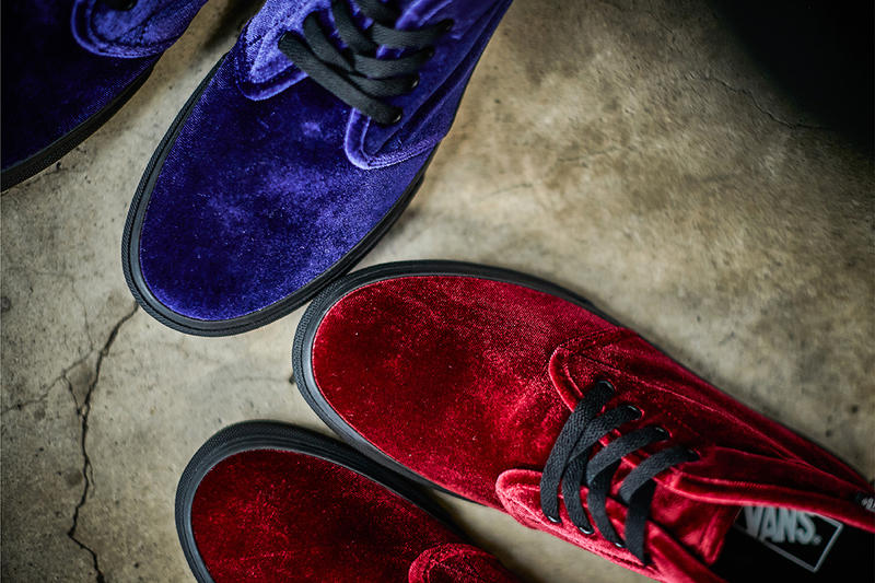 Vans Chukka Velvet Pack BILLYS Exclusive 2017 December Release Date Info Sneakers Shoes Footwear Japan Red Burgundy Cordovan Purple Green Black