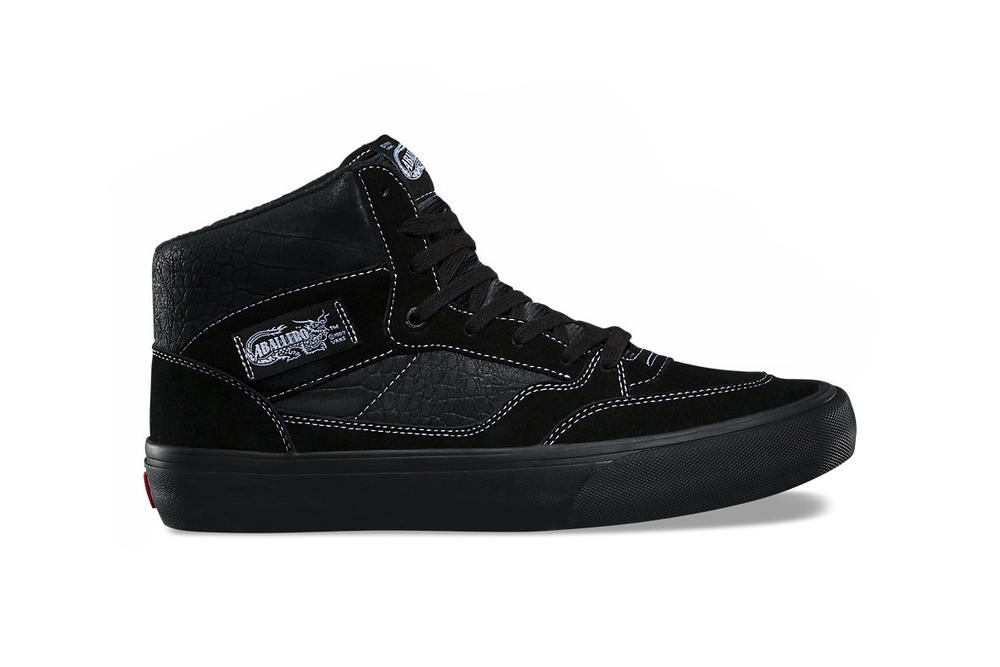 Vans Full Cab Pro Croc crocodile Pack Black Classic White Steve Caballero 2017 December 1 Release Date Info Sneakers Shoes Footwear