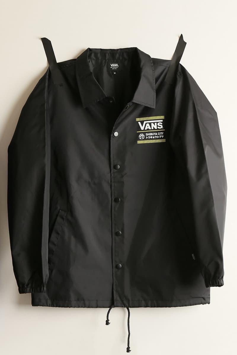 Vans Shibuya City Journal Standard Collaboration Capsule Collection Slip On Coaches coach Jacket T Shirt Japan 2018 January 10