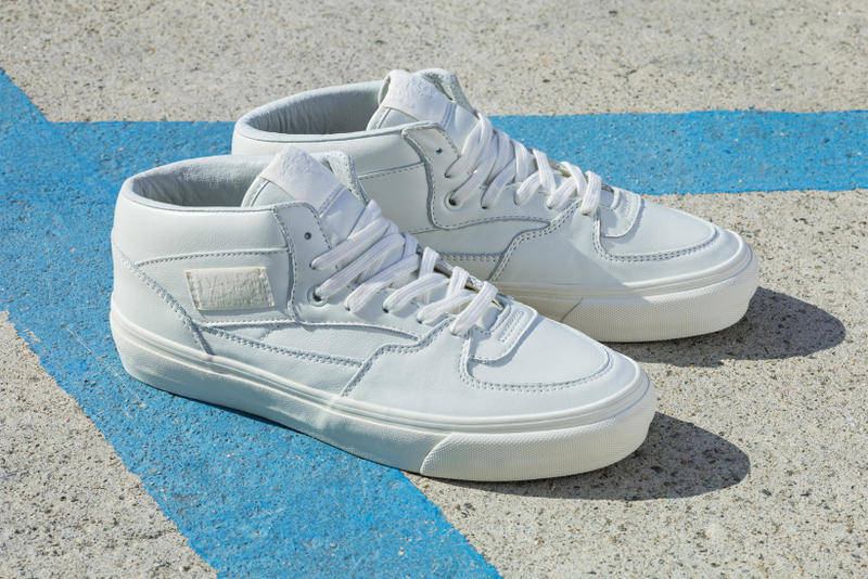 9c08d98071 The footwear brand looks to the street skaters that made their silhouette  what it is today. Vans Vault 25th Anniversary OG Half Full Cab ...