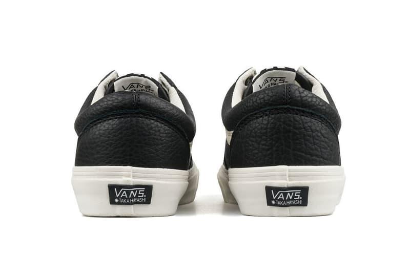 Taka Hayashi Vans Vault Sk8-Mid Old Skool Horween Leather