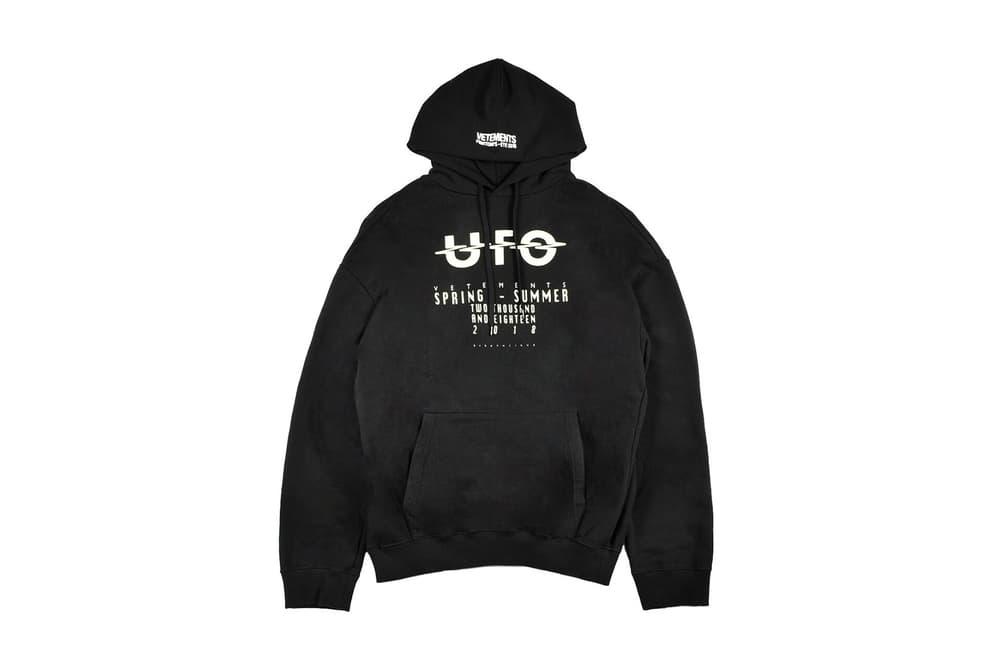 Vetements ADDITION ADELAIDE Hoodie Limited Edition Black Sweatshirt