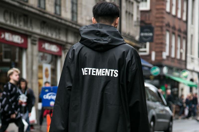 Vetements Show Paris Fashion Week Fall/Winter 2018 Demna Gvasalia NOSHOW