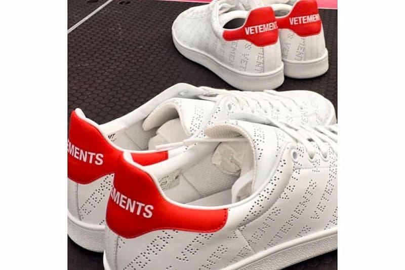 Vetements Spring Summer 2018 Footwear Collection MATCHESFASHION Instagram