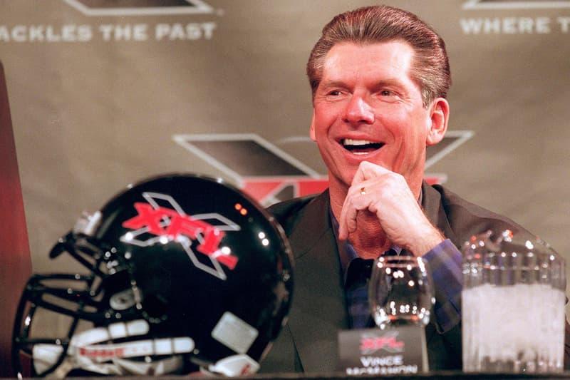 Vince McMahon $100M WWE Shares XFL