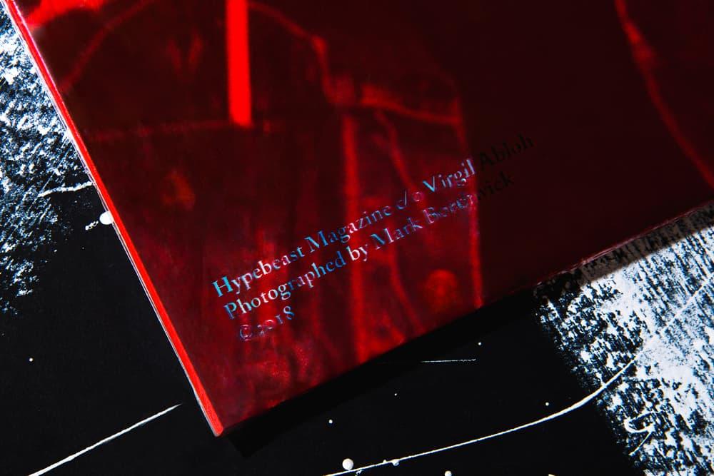 HYPEBEAST Magazine Issue 20 Virgil Abloh Off-White Mark Borthwick Balenciaga Helmut Lang BRTHR The Weeknd Travis Scott Arthur Kar Chrome Hearts Advisory Board Crystals