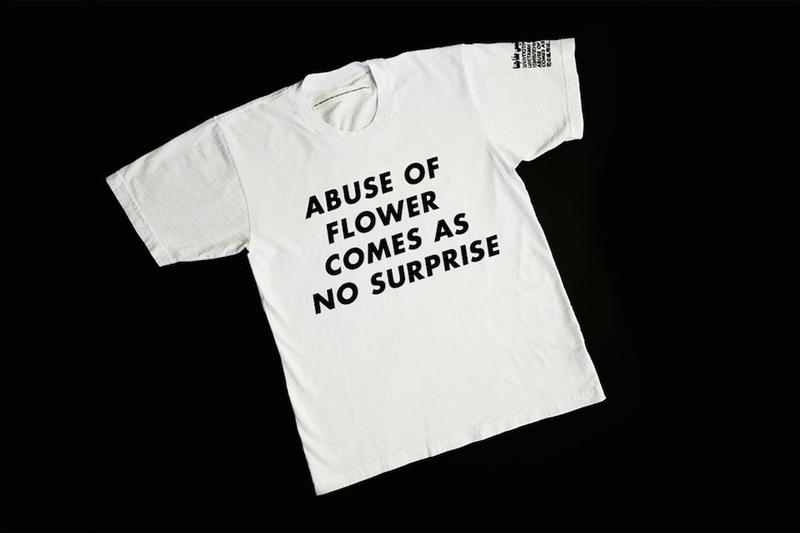 Virgil Abloh Jenny Holzer Design For Planned Parenthood T-shirt t-shirt tee collaboration Neo conceptual art feminist feminism