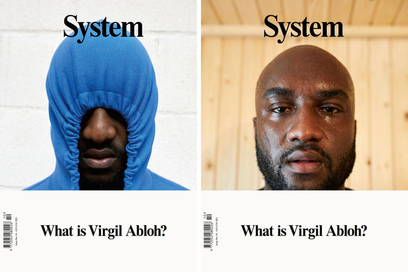 Virgil Abloh System Magazine Cover Signing London England United Kingdom 2017 December 4 Monday Shreej Newsagents Cover issue 10 ten
