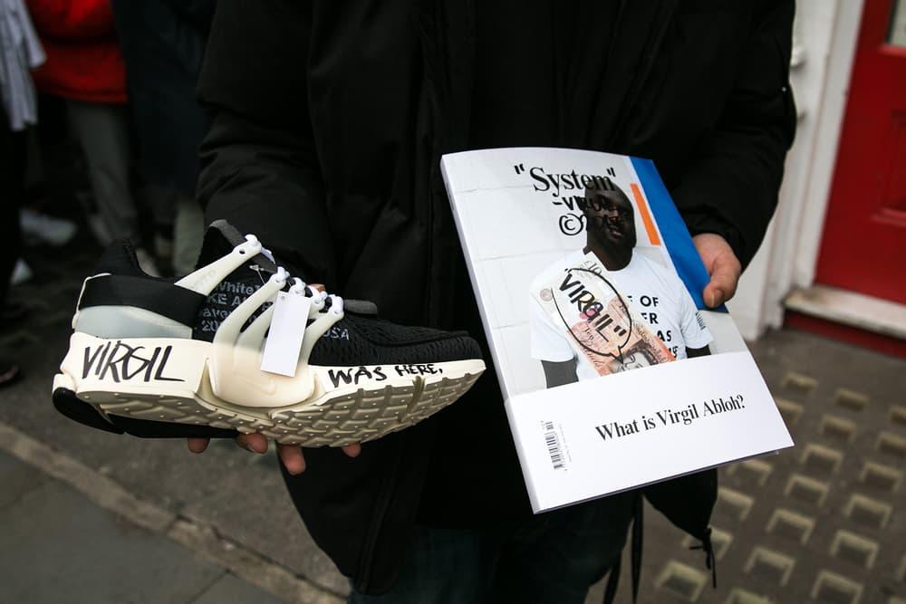 Virgil Abloh off-white Off White Champion Naomi Campbell System Magazine Nike The Ten Off-White™
