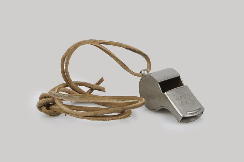 visvim Law Enforcement Whistle Necklace Fall Winter 2017