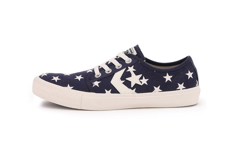 X LARGE Converse Japan Chevron star CK ST Ox Pack Red Blue White Stars One Sneaker Shoe red white Low
