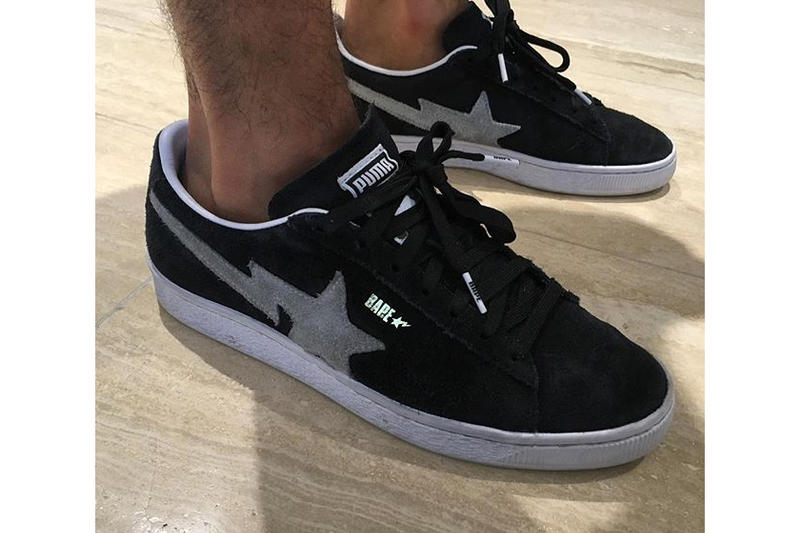Yassine Saidi BAPE PUMA Basket Classic Jeff Staple