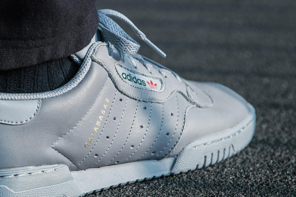 adidas Originals YEEZY Powerphase Grey Kanye West HBX Raffle Footwear Sneakers Fashion Release Info Date Details