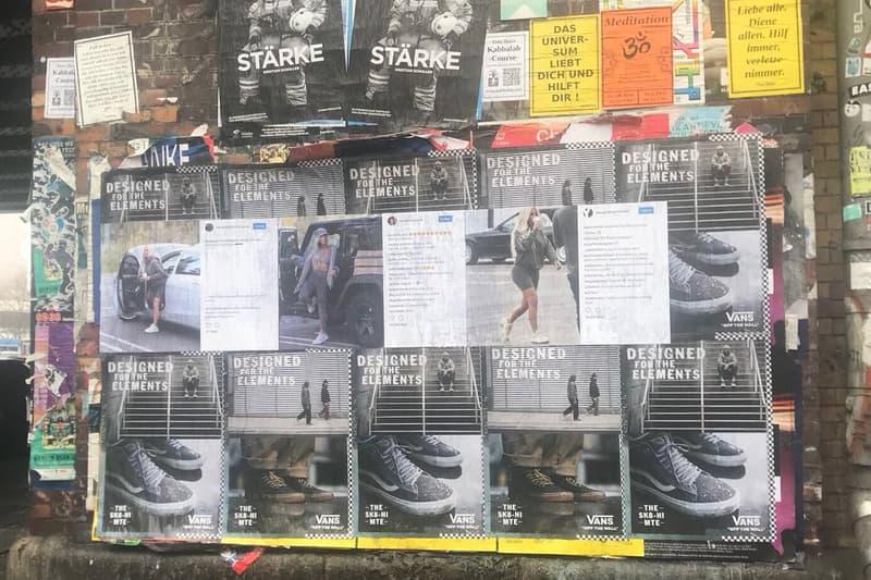 YEEZY Season 6 Posters Appear Worldwide Kim Kardashian Kanye West YEEZY