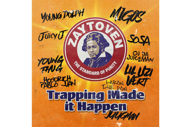 Zaytoven Trapping Made It Happen Album Stream 2017 December 15 Release Date Info iTunes Apple Music Spotify Lil Uzi Vert Migos Young Thug Mixtape